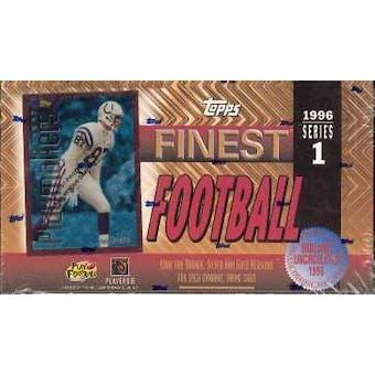 1996 Topps Finest Series 1 Football Hobby Box