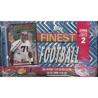 1996 Topps Finest Series 2 Football Hobby Box (Reed Buy)