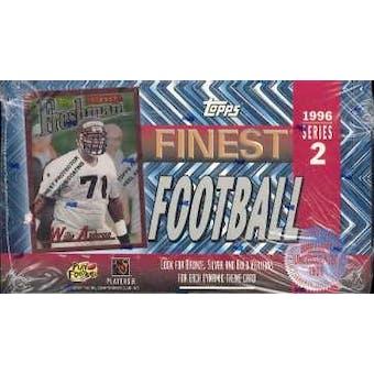 1996 Topps Finest Series 2 Football Hobby Box