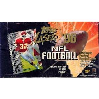 1996 Topps Laser Football Hobby Box