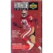 1996 Upper Deck Collector's Choice Football Factory Set