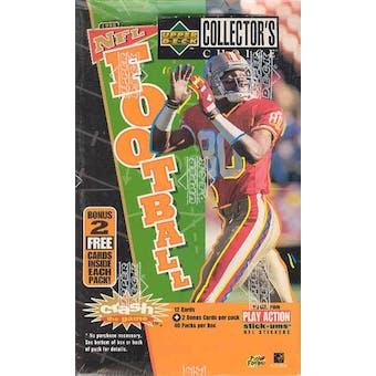 1996 Upper Deck Collector's Choice Football Hobby Box