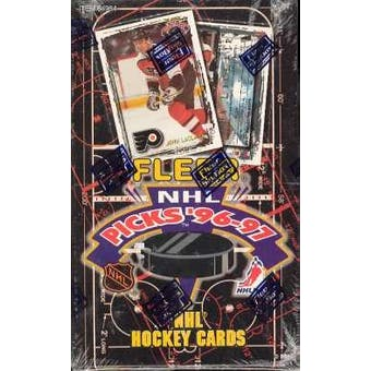 1996/97 Fleer Picks Hockey Hobby Box