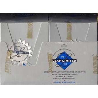 1996/97 Leaf Limited Hockey Hobby Box