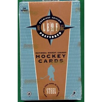 1996/97 Leaf Preferred Hockey Hobby Box
