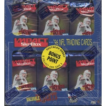 1996 Skybox Impact Football Jumbo Box