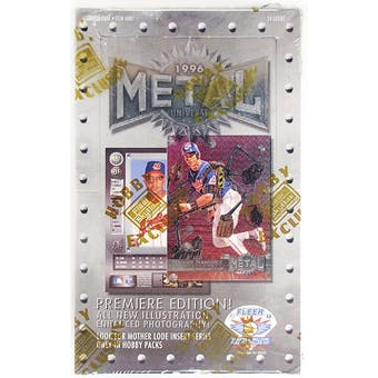 1996 Skybox Metal Universe Baseball Hobby Box