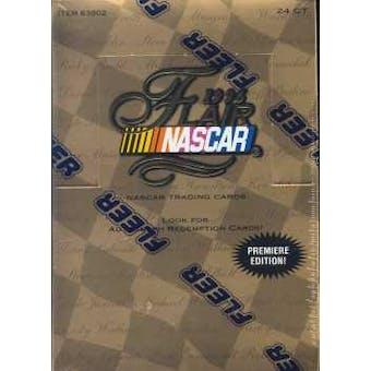 1996 Fleer Flair Racing Hobby Box