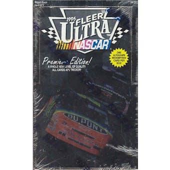 1996 Fleer Ultra Racing 24 Pack Box