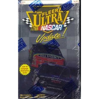 1996 Fleer Ultra Update Racing Hobby Box