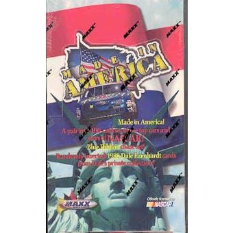 1996 Maxx Made In America Racing Hobby Box