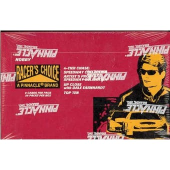1996 Pinnacle Racer's Choice Racing Hobby Box