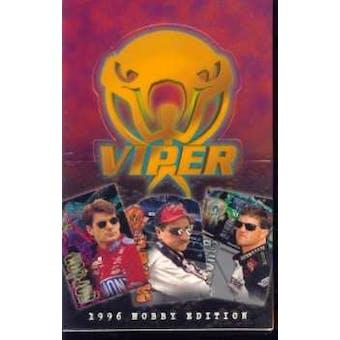 1996 Press Pass Wheels Viper Racing Hobby Box