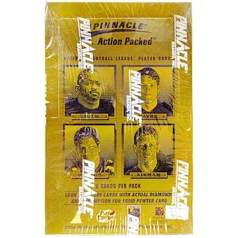 1996 Pinnacle Action Packed Football Hobby Box