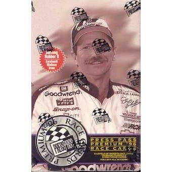 1996 Press Pass Premium Racing Hobby Box