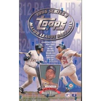 1996 Topps Series 2 Baseball Hobby Box