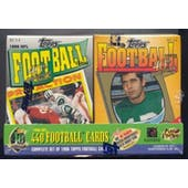 1996 Topps Cereal Box Football Factory Set (Reed Buy)