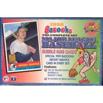 1996 Topps Bazooka Baseball Factory Set (box)