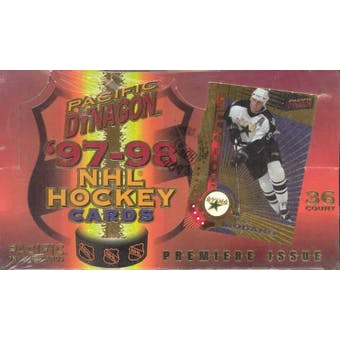 1997/98 Pacific Dynagon Hockey Hobby Box
