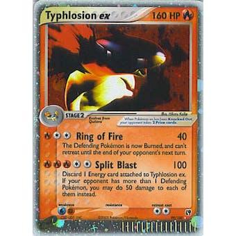 Pokemon Sandstorm Single Typhlosion ex 99/100 - SLIGHT PLAY (SP)