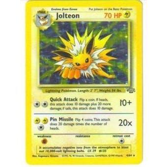 Pokemon Jungle Single Jolteon 4/64 - NEAR MINT (NM)