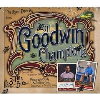 2011 Upper Deck Goodwin Champions Hobby Box