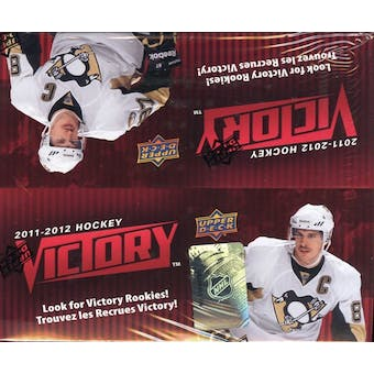 2011/12 Upper Deck Victory Hockey 36-Pack Box