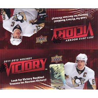 2011/12 Upper Deck Victory Hockey 36-Pack Box