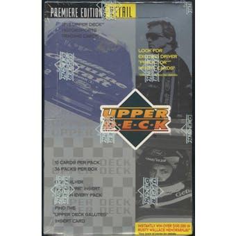 1995 Upper Deck Series 1 Racing Retail Box