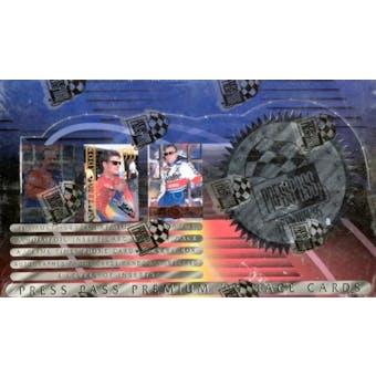1995 Press Pass Premium Racing Hobby Box