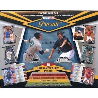 2011 TriStar Pursuit Baseball Hobby Box