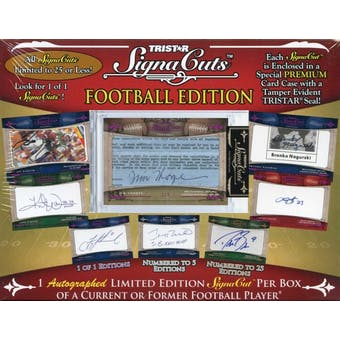 2011 TriStar SignaCuts Football Hobby Box