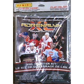 2010/11 Panini Adrenalyn XL Hockey Starter Box (Kit)