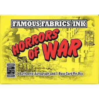 Horrors of War Hobby Box (Famous Fabrics Ink 2011)