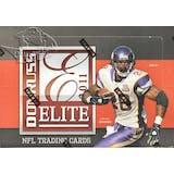 2011 Donruss Elite Football Hobby Box