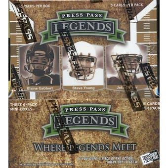2011 Press Pass Legends Football Hobby Box