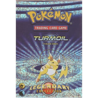 WOTC Pokemon Legendary Collection Turmoil Theme Deck