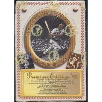 1993 Ted Williams Baseball Jumbo Box