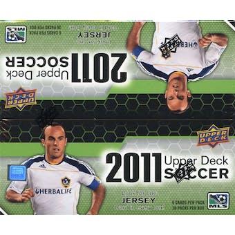 2011 Upper Deck Soccer 36-Pack Box