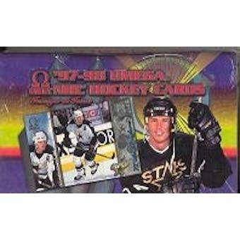 1997/98 Pacific Omega Hockey Hobby Box