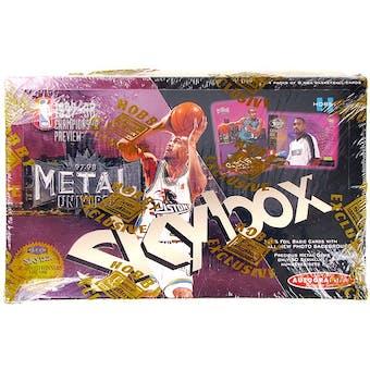 1997/98 Skybox Metal Championship Preview Basketball Hobby Box