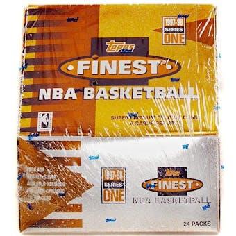 1997/98 Topps Finest Series 1 Basketball Hobby Box