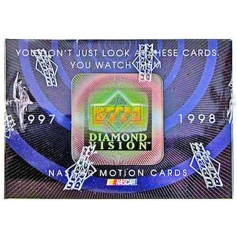 1997/98 Upper Deck Diamond Vision Racing Hobby Box