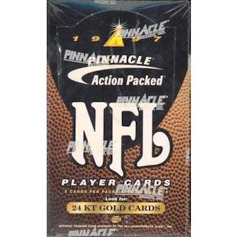 1997 Pinnacle Action Packed Football Hobby Box