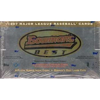 1997 Bowman's Best Baseball Hobby Box