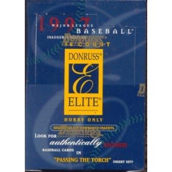 1997 Donruss Elite Baseball Hobby Box