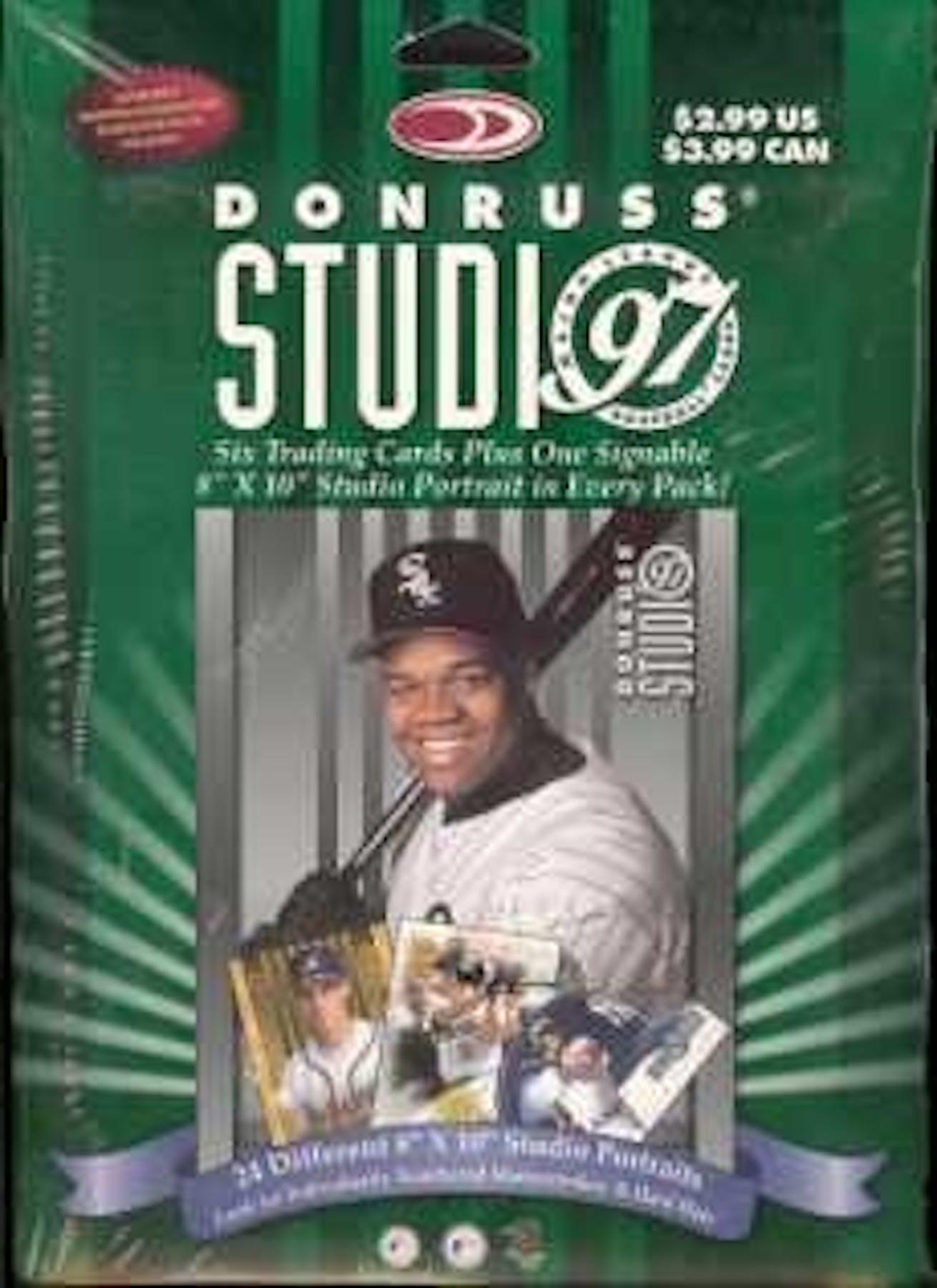 1997 Donruss Studio Baseball Box Da Card World