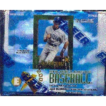 1997 Fleer E-X 2000 Baseball Hobby Box