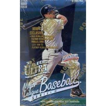 1997 Fleer Ultra Series 2 Baseball Hobby Box