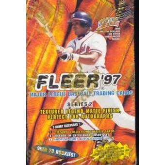 1997 Fleer Series 2 Baseball Hobby Box